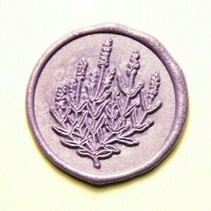 Lavender Bouquet Wax Seal Stamp - E010