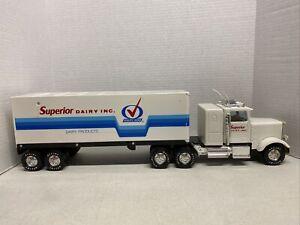 Nylint Superior Dairy Inc. Semi And Trailer 18 Wheeler