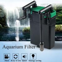 220v External Hang On Filter Surface Skimmer Aquarium Fish Tank Oil Film Remover