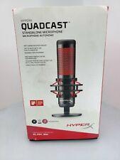 HyperX - QuadCast Wired Multi-Pattern Electret Condenser Microphone