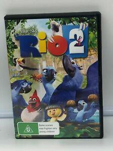 Rio 2 DVD Very Good Conditiin Region 4