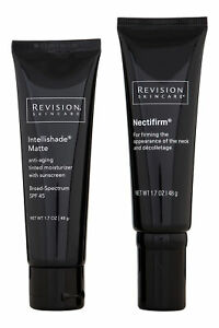 Revision Nectifirm & Intellishade Matte Duo. Skin Care System