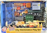 Remote Control City Maintenance Toy Play Set 50 Pc. Battery Operated Boley 2003