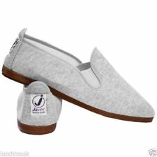 Unisex Womens Mens Ladies Javer Flossy Espadrilles Plimsoll Flat Shoes Pumps