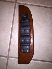 09 GMC 1500 2500  Master Power Window Switch Left Driver Wood