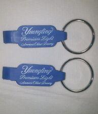 2 Yuengling Beer 'Key Chain/Bottle opener' PREMIUM LIGHT America's Brewery blue