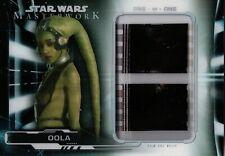 Star Wars Masterwork 2019, Oola Film Cell Relic Card Fc-06 1/1