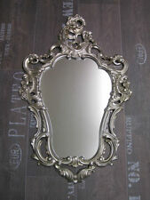 Baroque Mirror Wall Antique Repro IN Silver 50X76 Decoration 118