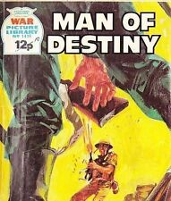 A Fleetway War Picture Library Pocket Comic Book Magazine #1416 MAN OF DESTINY