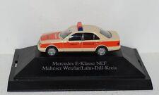 Mercedes-Benz E-Klasse W210 Malteser Notarzt 1:87 in PC  und OVP
