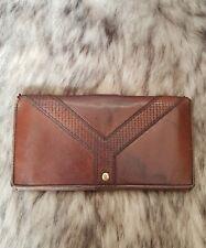 Authentic Preloved Yves Saint Laurent Leather Long Wallet