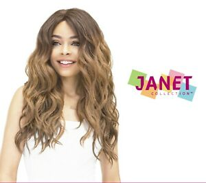 MOON - Natural Wave Super Flow Deep Part Lace Front Wig - Janet Collection