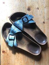 Betula Sandalen Damen Gr. 41 Jeans-Optik