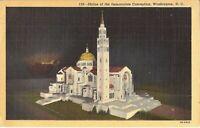 Washington DC - National Shrine of the Immaculate Conception - 1948 - Catholic