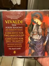 The Bach Guild / Vivaldi: The Four Seasons/Concerto for Two Mandolins + CD