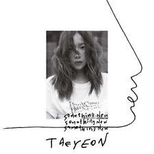 TAEYEON Girls' Generation - Something New (3rd Mini) CD+Booklet+Poster+Free Gift