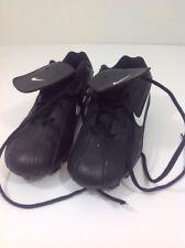 Nike Ribbie Jr  Baseball Cleats (BG) 309303-011 Black White Lace-Up Sz 6Y. UN10