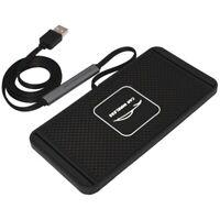 QI Voiture Sans Fil Rapidement Chargeur pour IPhone 8 XS XR Pad de Charge d E6A5