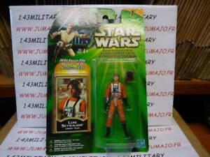 Figurine Kenner STAR WARS Power of the Jedi POTJ MIB 2000 Luke Skywalker x-wing