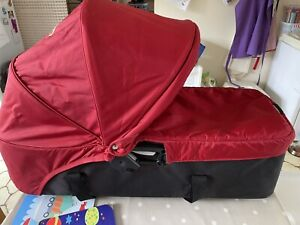 Compact Carrycot for Baby Jogger City Mini/Mini GT DOUBLE + Adapters.