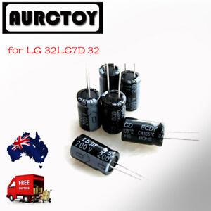 LCD Monitor Capacitor Repair Kit for LG 32LC7D 32 inch for Power board repair AU