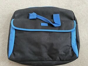 Trust 10 inch Padded Netbook Carry Bag Blue and Black Laptop Case