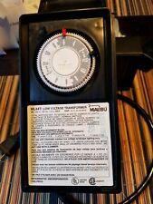 New listing Malibu Intermatic Ml44T 44 Watt Low Voltage Landscape Lighting Transformer Timer