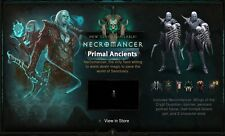 Diablo 3 ROS PS4 Necromancer Primal Ancient Legit Augmented Sets