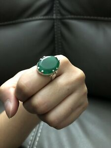Panna Stone Ring Color Green