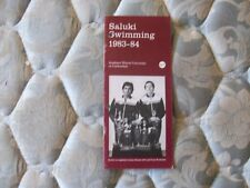1983-84 Southern Illinois Salukis Swimming Media Guide 1984 Yearbook Program Ad