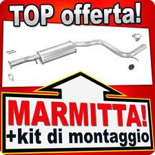 Centrale di Scarico FORD MONDEO I II 2.5 24V 1994-1999 Marmitta PRH