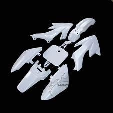 White Fairing Plastic Body Cover Kits For Honda Piranha XR50 CRF50 Dirt Pit Bike