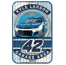Kyle Larson #42 2018 Credit One Bank 11 x 17 Plastic Sign Free Shipping Instock
