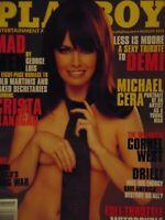 Playboy August 2010 | Francesca Frigo Crista Flanagan Demi Moore   #8231