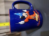 Walt Disney World Mickey Mouse Fantasia Sorcerers - 3D Embossed Coffee Cup Mug