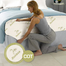 Baby Cot Size Bamboo Cover Material Fully Fitted Mattress Protector/Fitted Sheet