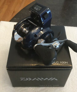 Daiwa LEXA-LC 100H Line Counter Fishing Reel 206457-12