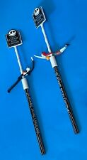 A Nightmare Before Christmas ( NBC) SET OF 2 JACK & SALLY SPIN TOP PEN APPLAUSE