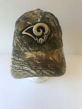 release date c7763 4d184 NFL St Louis Rams Camo Hat Cap Mesh Back 47 Brand L XL Stretch Fit