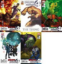 Dark Reign: Fantastic Four #1-4 (2009) Marvel Comics - 5 Comics