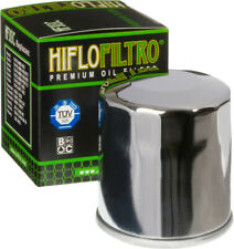 HifloFiltro Replacement Motorcycle Oil Filter (Chrome) HF303C