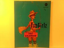 Rare Vintage Fun Girlz 1967 Calendar Miss America Adults Only Funny       eb1218