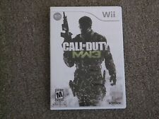 Wii-Call of Duty MW3 in Top Zustand