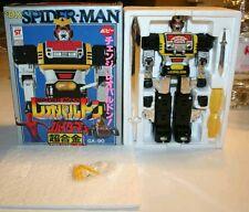 LEOPALDON & SPIDERMAN POPY DX TRASFORMABILE GA-90 - rare complete robot mazinger