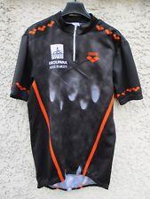 Maillot triathlon cycliste ARENA Dromad'Erdre shirt course vélo noir XL