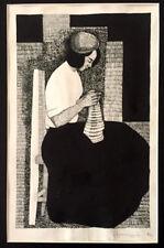 1974 GRAPHIC ART Drawing/ Painting RUSSIAN ARMENIAN Artist TIRATURYAN Tiraturian
