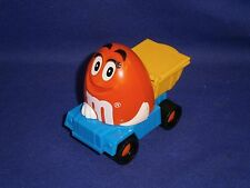 Vintage M&M Orange Peanut Mini Candy Dispenser Promo by Burger King 2 1/2in