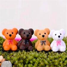 Miniature Dollhouse Cute Bears Garden Craft Fairy Bonsai Plant Diy Decor 1pc ♫