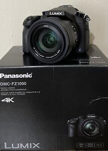 Panasonic Lumix DMC-FZ1000 Digital Camera - Black - Extras!
