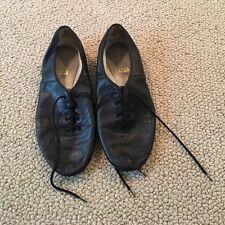 ballet jazz flats oxfords leather dance shoe shoes flat 10 bloch capezio black